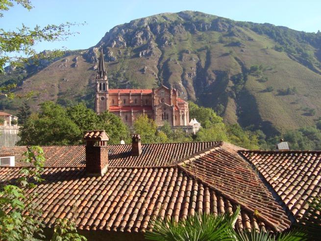 Vista de Covadonga