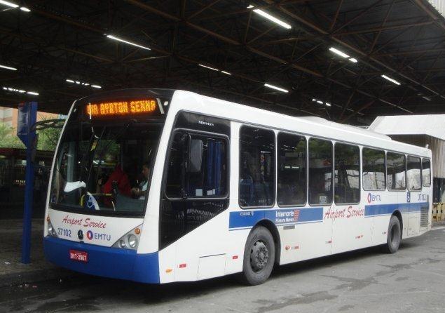 Este é o ônibus de linha. R$ 4,60