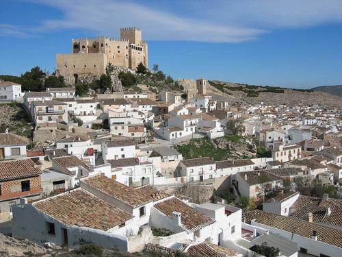O pequeno povoado de Velez Blanco