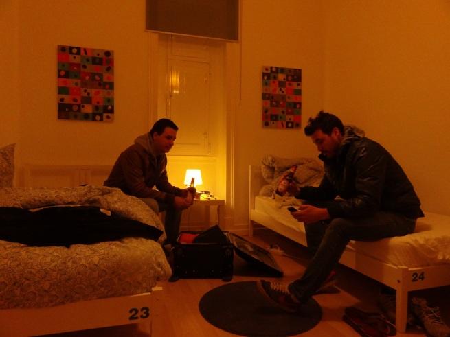 Quarto privado do hostel Fusions