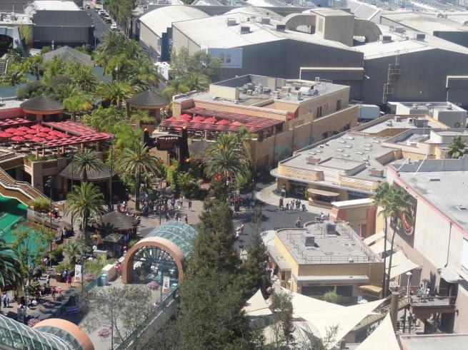 Parque da Universal - vista aérea