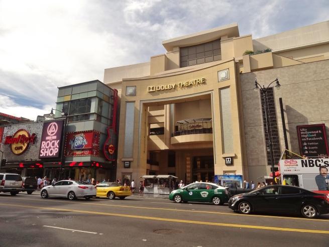 Dolby Theater - onde atualmente acontece a entrega do Oscar