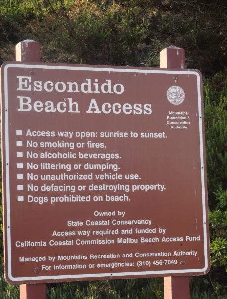 Escondido Beach