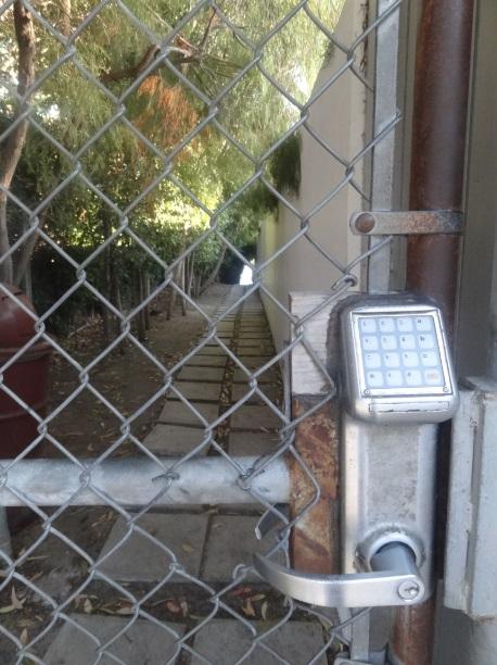 Portão de acesso