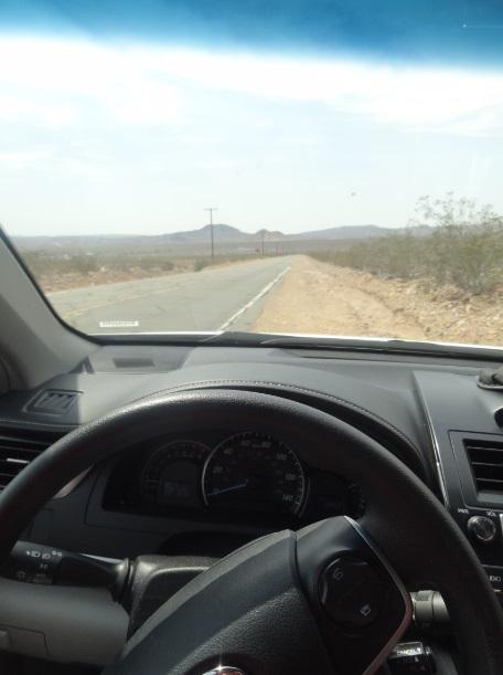 Atravessando o deserto