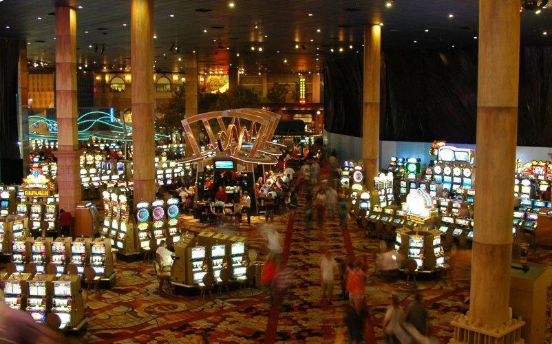 Os gigantescos cassinos de Vegas