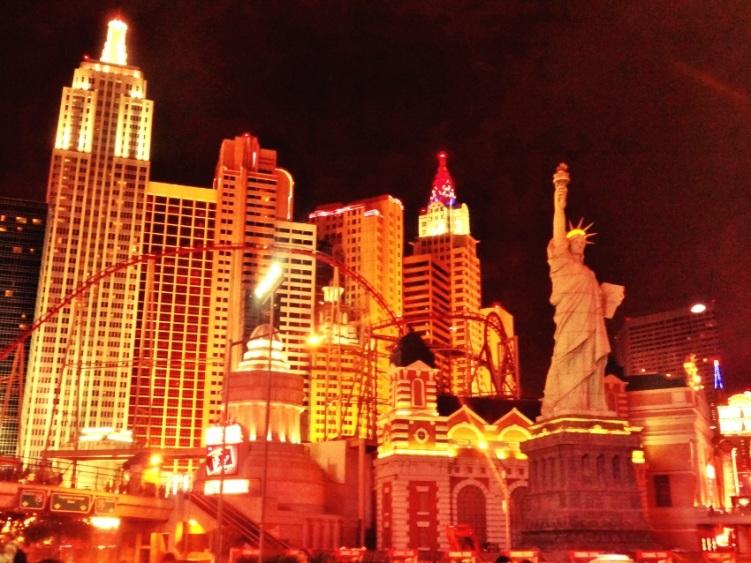 Hotel New York, New York reproduz bairros da grande cidade.