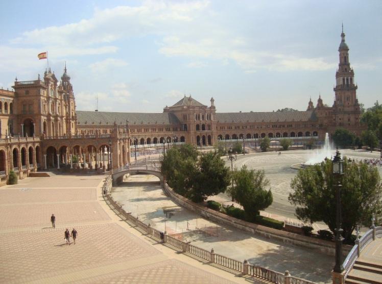 Praça do alto.